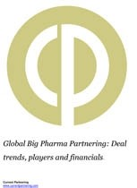 Global Big Pharma Partnering Terms and Agreements 2014-2019 Deal trends, players and financials