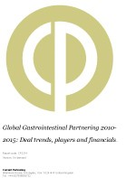 Global Gastrointestinal Partnering 2014-2019: Deal trends, players and financials