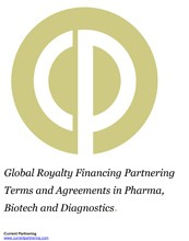 Global Royalty Financing Partnering Terms and Agreements in Pharma, Biotech and Diagnostics 2010-2018