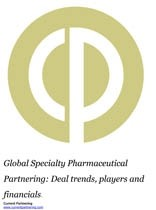 Global Specialty Pharmaceutical Partnering Terms and Agreements 2014-2019: Deal trends, players and financials