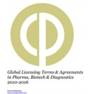 Global Licensing Partnering Terms & Agreements in Pharma, Biotech & Diagnostics 2010-2016