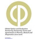 Global Option and Evaluation Deals in Pharma, Biotech and Diagnostics 2010-2016