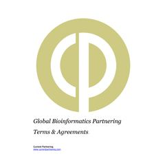 Global Bioinformatics Partnering Terms and Agreements 2014 to 2019
