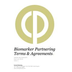 Global Biomarker Partnering Terms and Agreements 2014-2020: Deal trends, players and financials