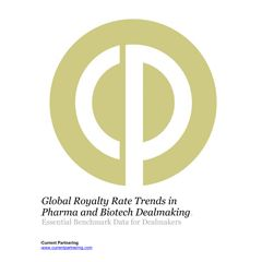 Global Royalty Rate Trends in Pharma and Biotech Dealmaking 2010-2021