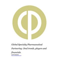 Global Specialty Pharmaceutical Partnering Terms and Agreements 2014-2020: Deal trends, players and financials